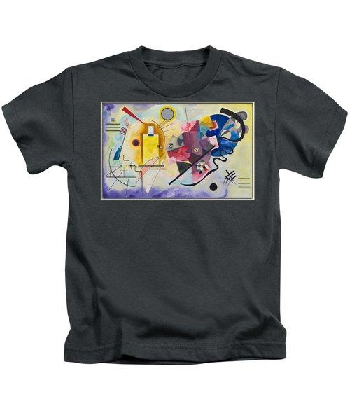Wassily Kandinsky,jaune Rouge Bleu Kids T-Shirt