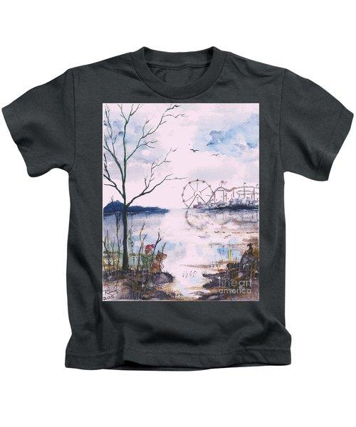 Watching The World Go Round Kids T-Shirt