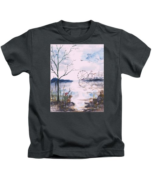 Watching The World Go Round Kids T-Shirt