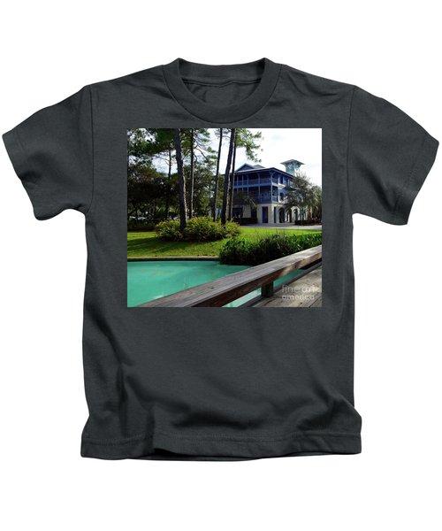 Watercolor Florida Kids T-Shirt by Megan Cohen