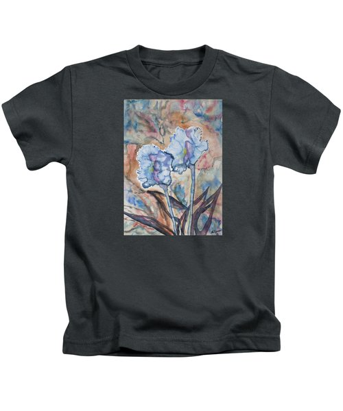Watercolor - Orchid Impression Kids T-Shirt