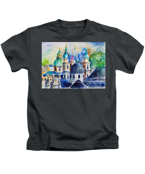 Watercolor Series No. 247 Kids T-Shirt