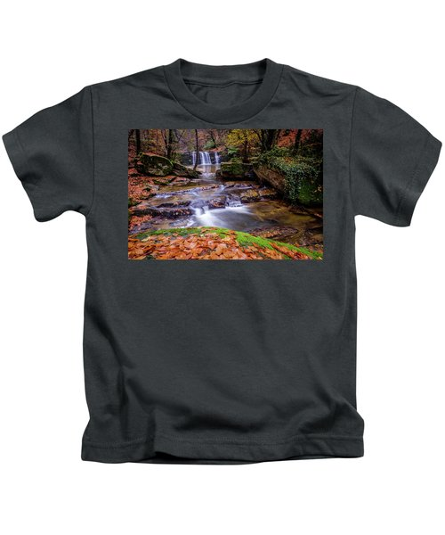 Waterfall-2 Kids T-Shirt