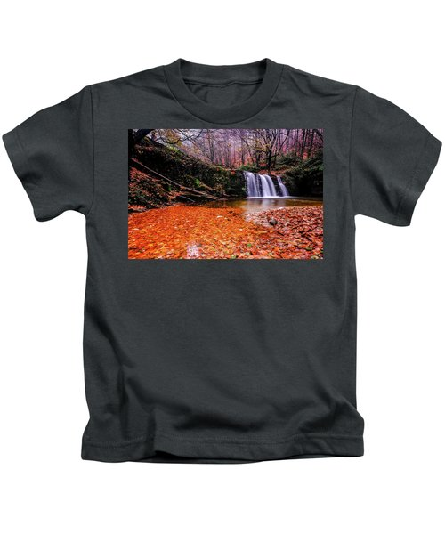 Waterfall-7 Kids T-Shirt
