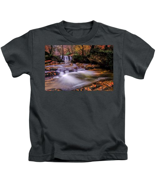 Waterfall-9 Kids T-Shirt