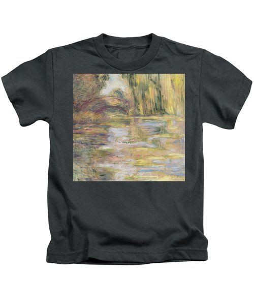 Waterlily Pond, The Bridge Kids T-Shirt
