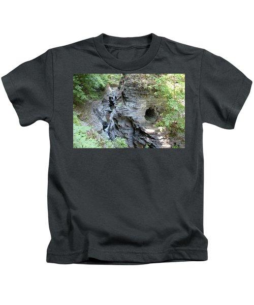 Watkins Glen New York Kids T-Shirt