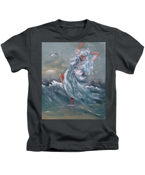 Wave Within Kids T-Shirt