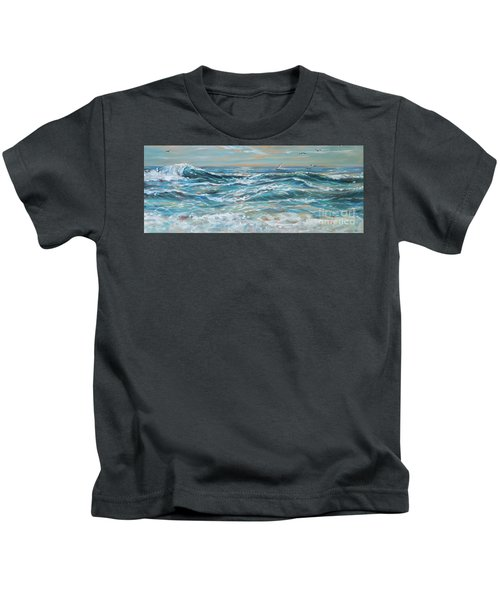 Waves And Wind Kids T-Shirt