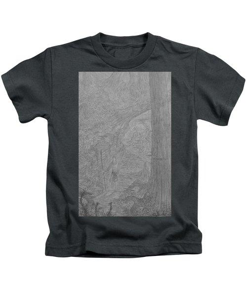 Wayward Wizard Kids T-Shirt by Corbin Cox