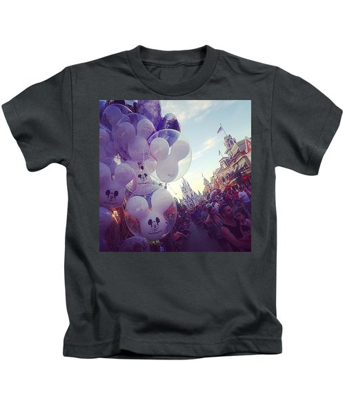 An Early Magical Morning  Kids T-Shirt