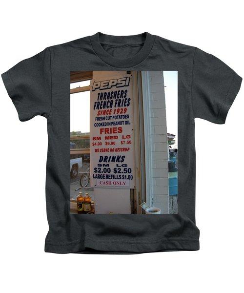 We Serve No Ketchup Kids T-Shirt