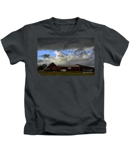 Weather Threatening The Farm Kids T-Shirt