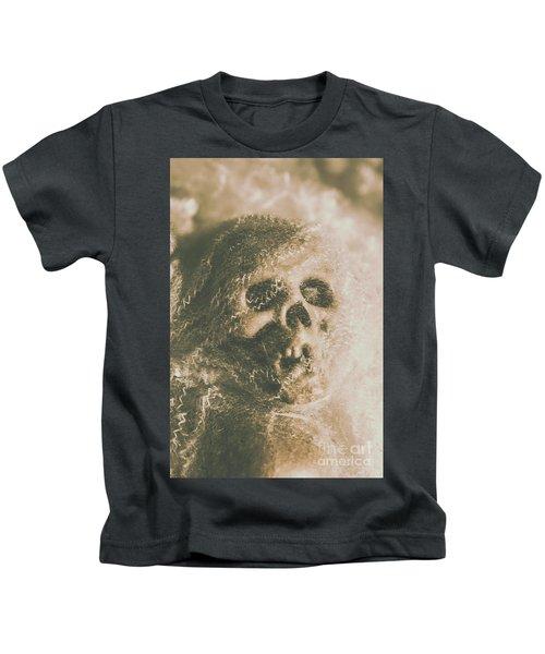 Webs And Dead Heads Kids T-Shirt
