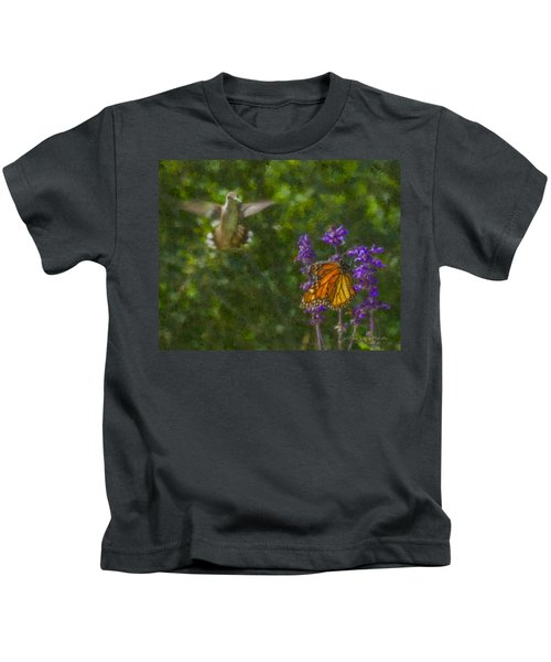 Welcome Vistors Kids T-Shirt