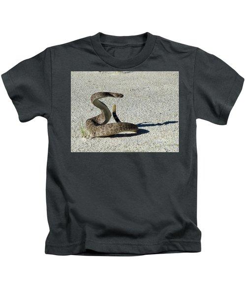 Western Diamondback Rattlesnake Kids T-Shirt