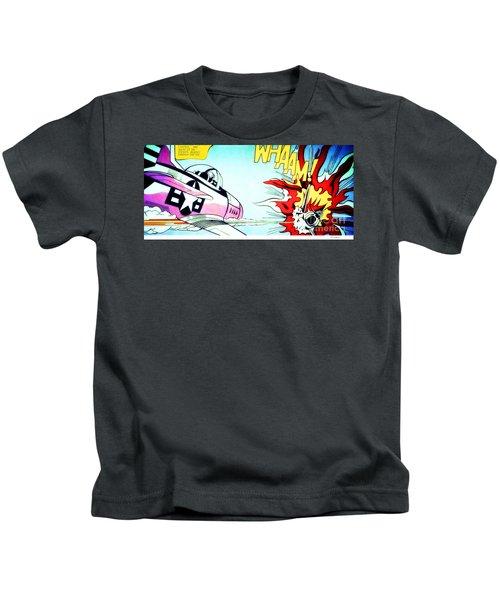Whaam - Roy Lichtenstein  Kids T-Shirt