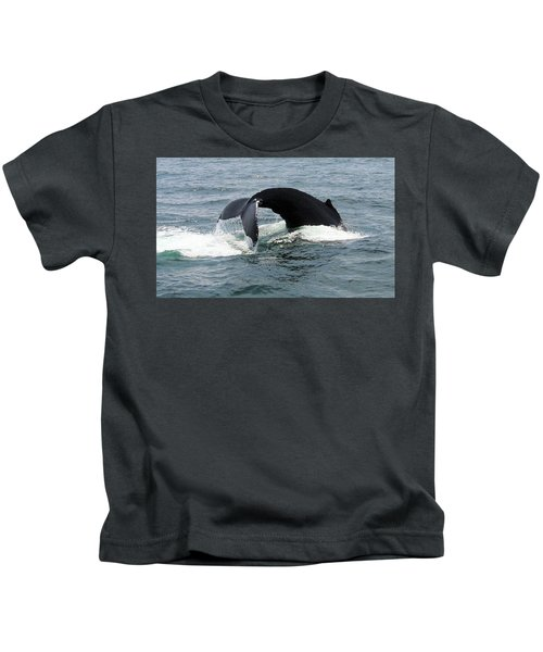 Whale Of A Tail Kids T-Shirt