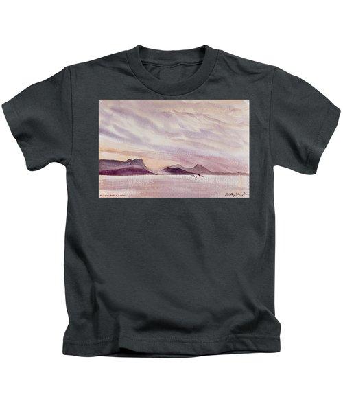 Whangarei Heads At Sunrise, New Zealand Kids T-Shirt