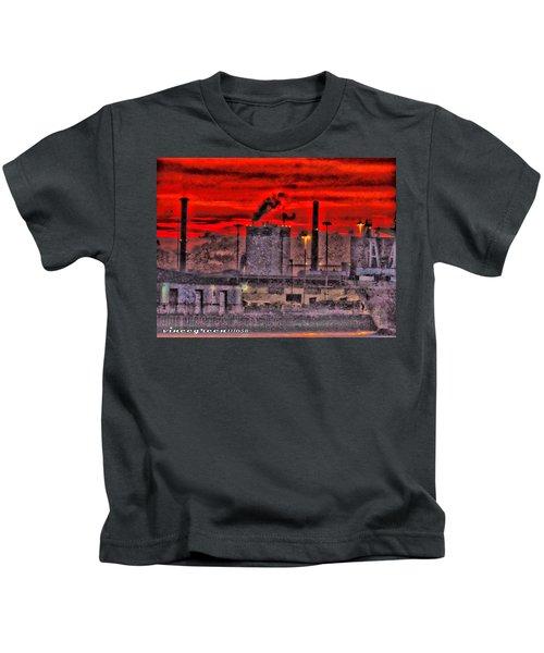 Port Of Savannah Kids T-Shirt