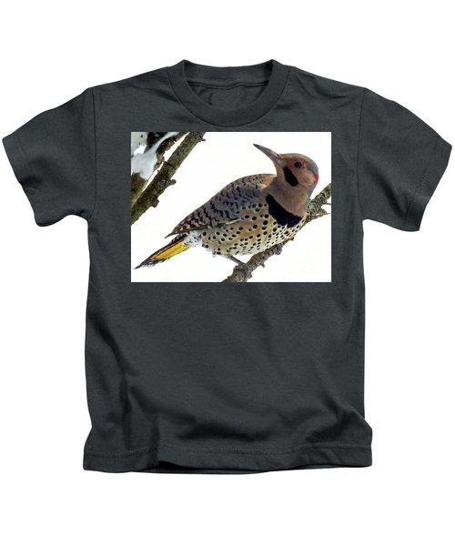 What Was That - Northern Flicker Kids T-Shirt