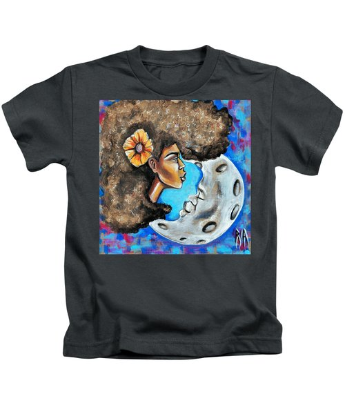 When He Gave You The Moon Kids T-Shirt