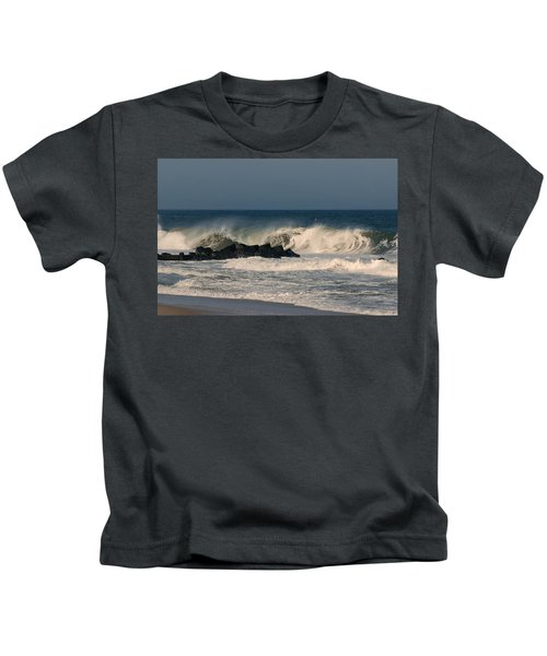 When The Ocean Speaks - Jersey Shore Kids T-Shirt