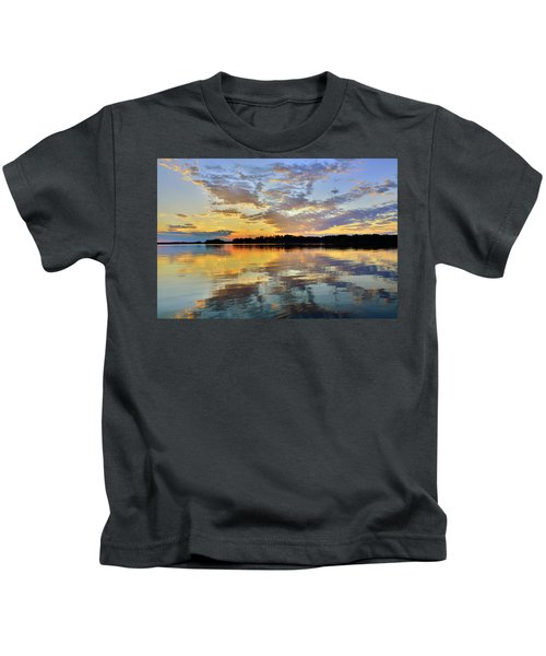 When The Sun Goes Down Kids T-Shirt