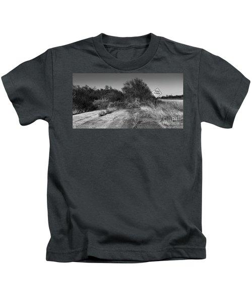 Where 66 Ends Kids T-Shirt