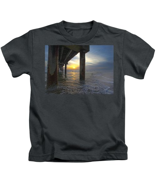 Where The Sand Meets The Surf Kids T-Shirt