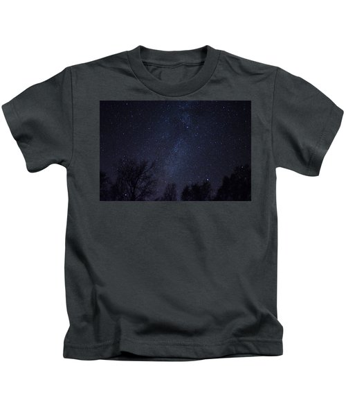Where The Wind And The Coyotes Howl Kids T-Shirt