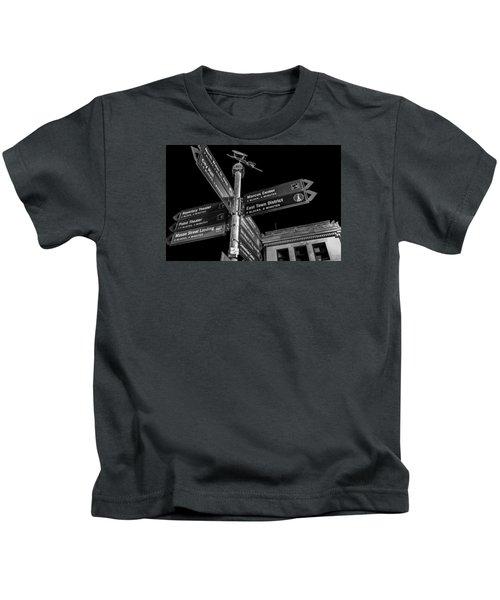 Which Way In Milwaukee? Kids T-Shirt