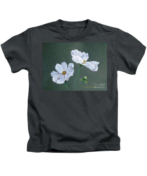 White Cosmos Kids T-Shirt
