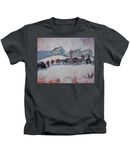 White Hill Zonneberg Maastricht Kids T-Shirt