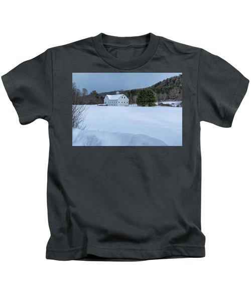 White On White Kids T-Shirt