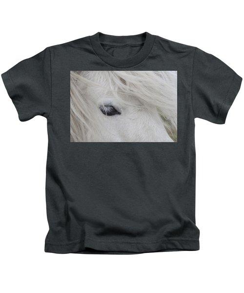 White Pony Kids T-Shirt