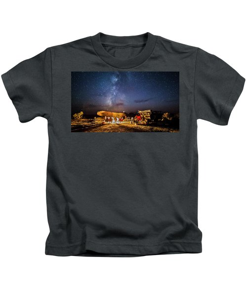 White Rim Camp Kids T-Shirt