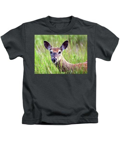 White Tail Doe Kids T-Shirt
