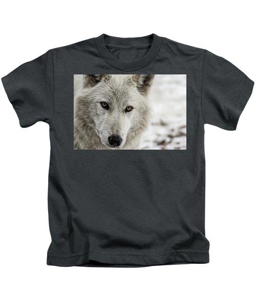 White Wolf II Kids T-Shirt