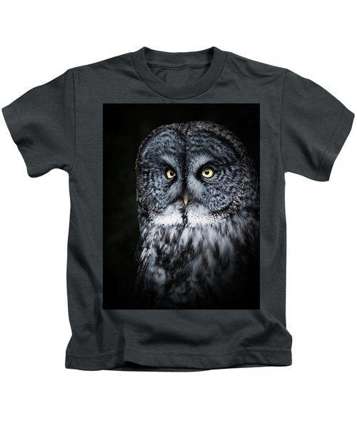 Whooo Are You Looking At? Kids T-Shirt