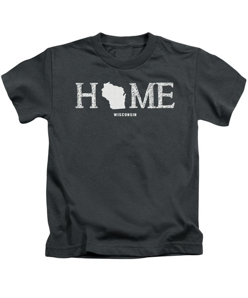 Wi Home Kids T-Shirt by Nancy Ingersoll