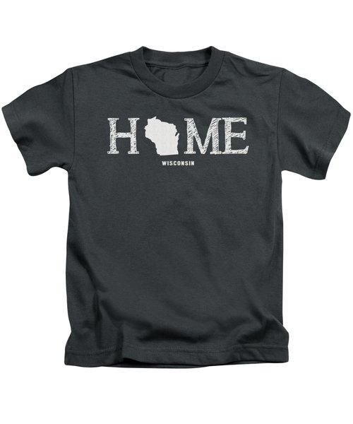 Wi Home Kids T-Shirt by Nancy Ingersoll