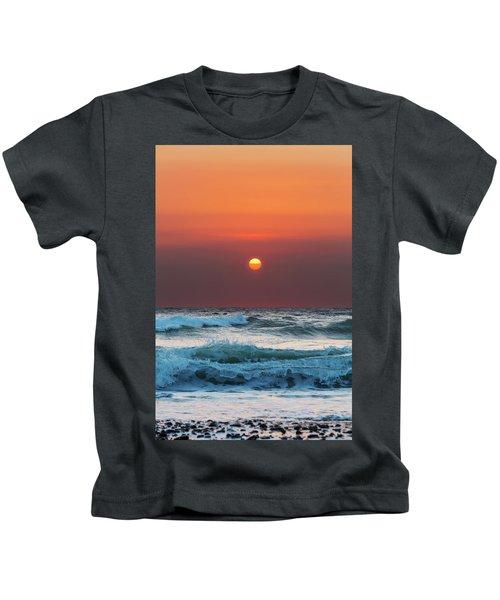 Widemouth Sunset, Cornwall Kids T-Shirt