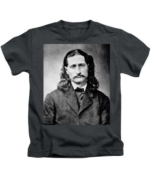 Wild Bill Hickok - American Gunfighter Legend Kids T-Shirt