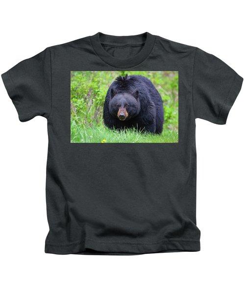 Wild Black Bear Kids T-Shirt