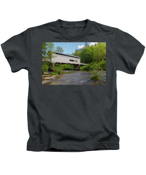 Wild Cat Bridge No. 2 Kids T-Shirt