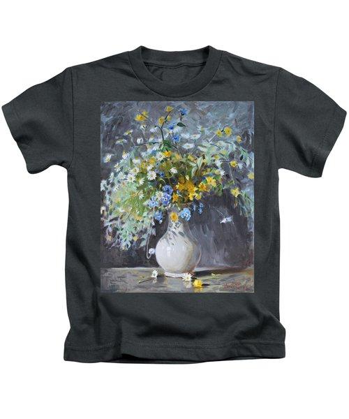 Wild Flowers Kids T-Shirt