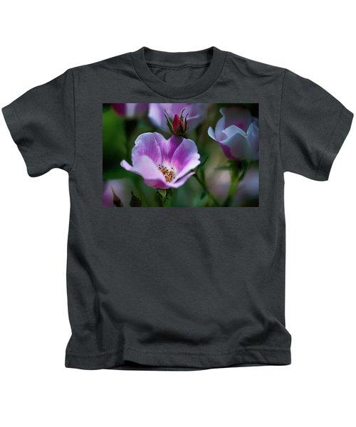Wild Rose 7 Kids T-Shirt