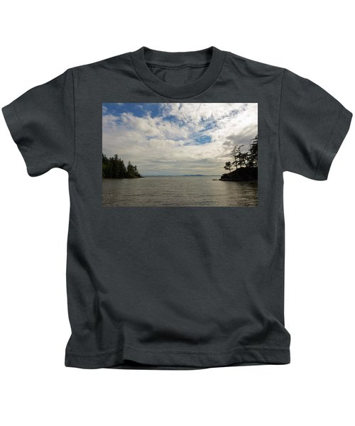 Wildcat Cove In Larrabee State Park Kids T-Shirt