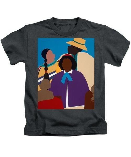 Wildfire A Tribute To Edmonia Lewis Kids T-Shirt